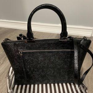 Henri Bendel embossed leather tote
